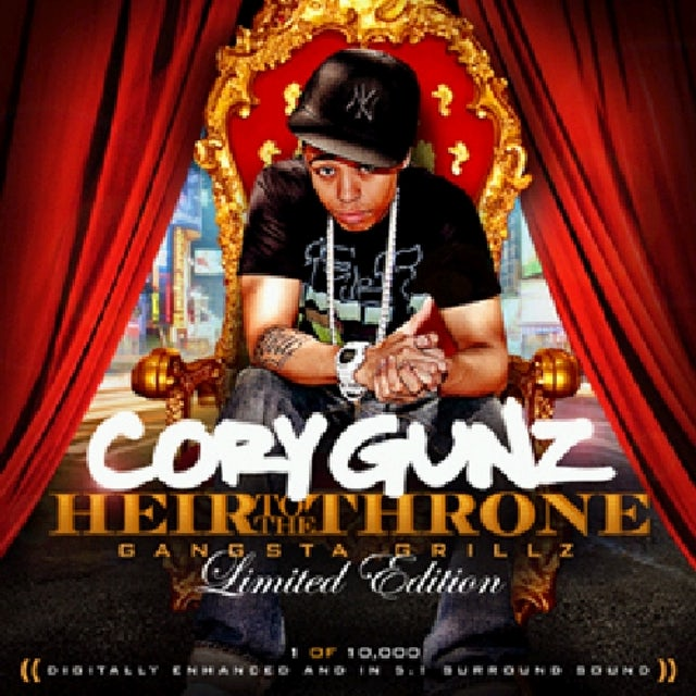 Cory Gunz HEIR TO THE THRONE CD
