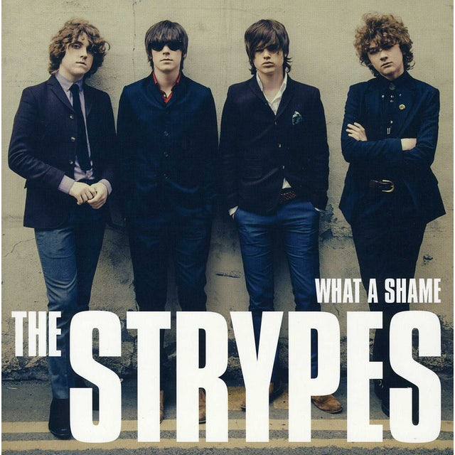 The Strypes WHAT A SHAME Vinyl Record - UK Release