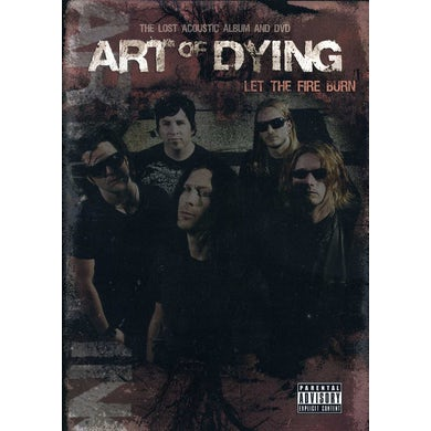 Art of Dying LET THE FIRE BURN CD