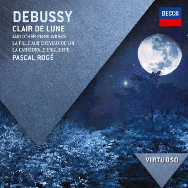 Debussy VIRTUOSO: CLAIR DE LUNE CD