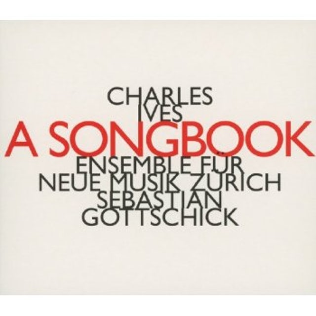 Charles Ives CHANSONS & COURTES PIECES INSTRUMEN CD