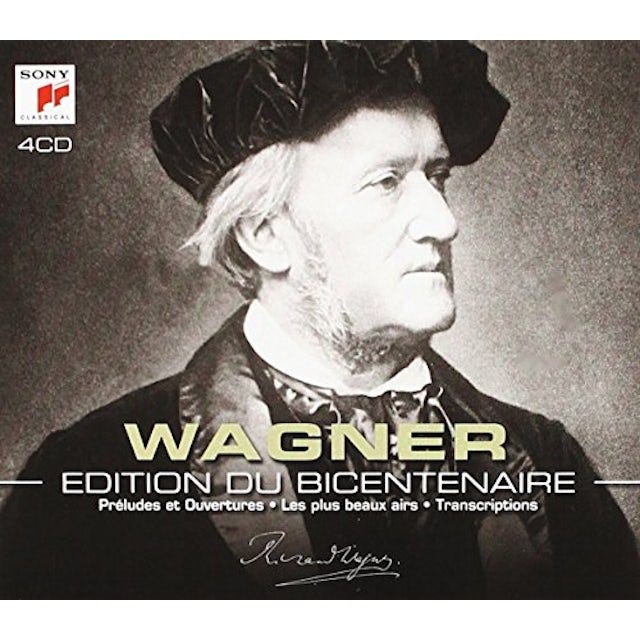Richard Wagner WAGNER-EDITION DU BICENTENAIRE CD