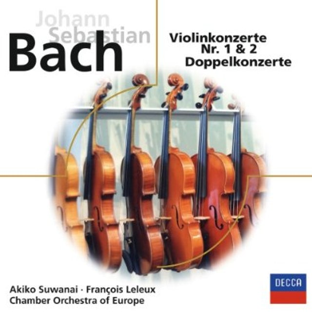 J.S. Bach VIOLINKONZERTE NO.1 & 2 CD