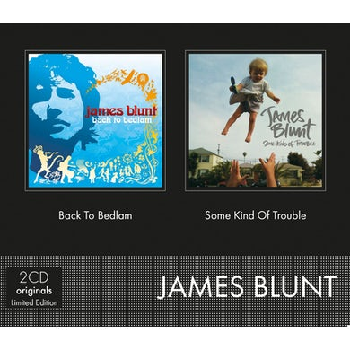 James Blunt SOME KIND OF TROUBLE/BACK TO BEDLAM CD
