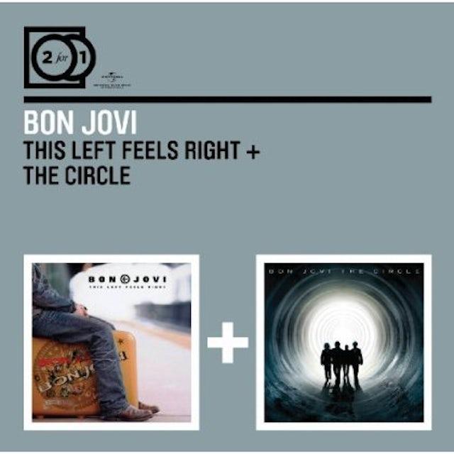 Bon Jovi THIS LEFT FEELS RIGHT/CIRCLE CD