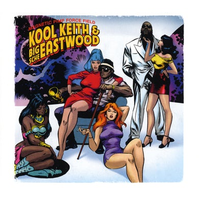 Kool Keith MAGNETIC PIMP FORCE FIELD CD