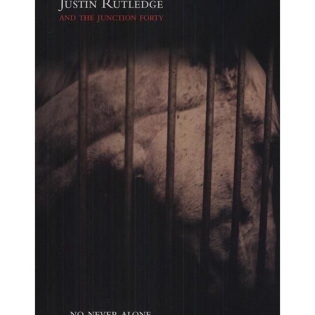 Justin Rutledge NO NEVER ALONE Vinyl Record