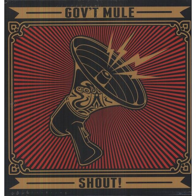 Govt Mule SHOUT! Vinyl Record