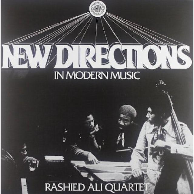 Rashied Quartet Ali NEW DIRECTIONS IN MODERN MUSIC Vinyl Record