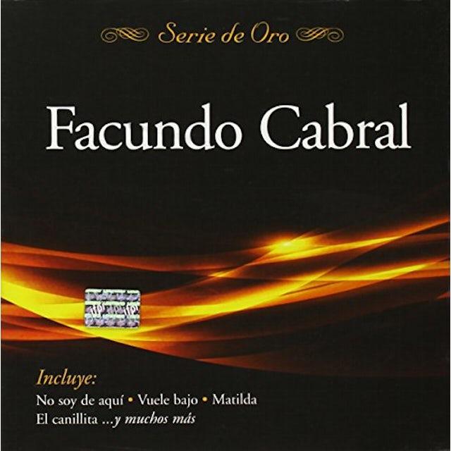 Facundo Cabral SERIE DE ORO CD