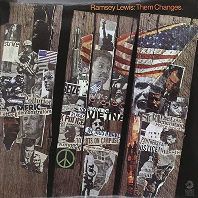 Ramsey Lewis THEME CHANGS Vinyl Record