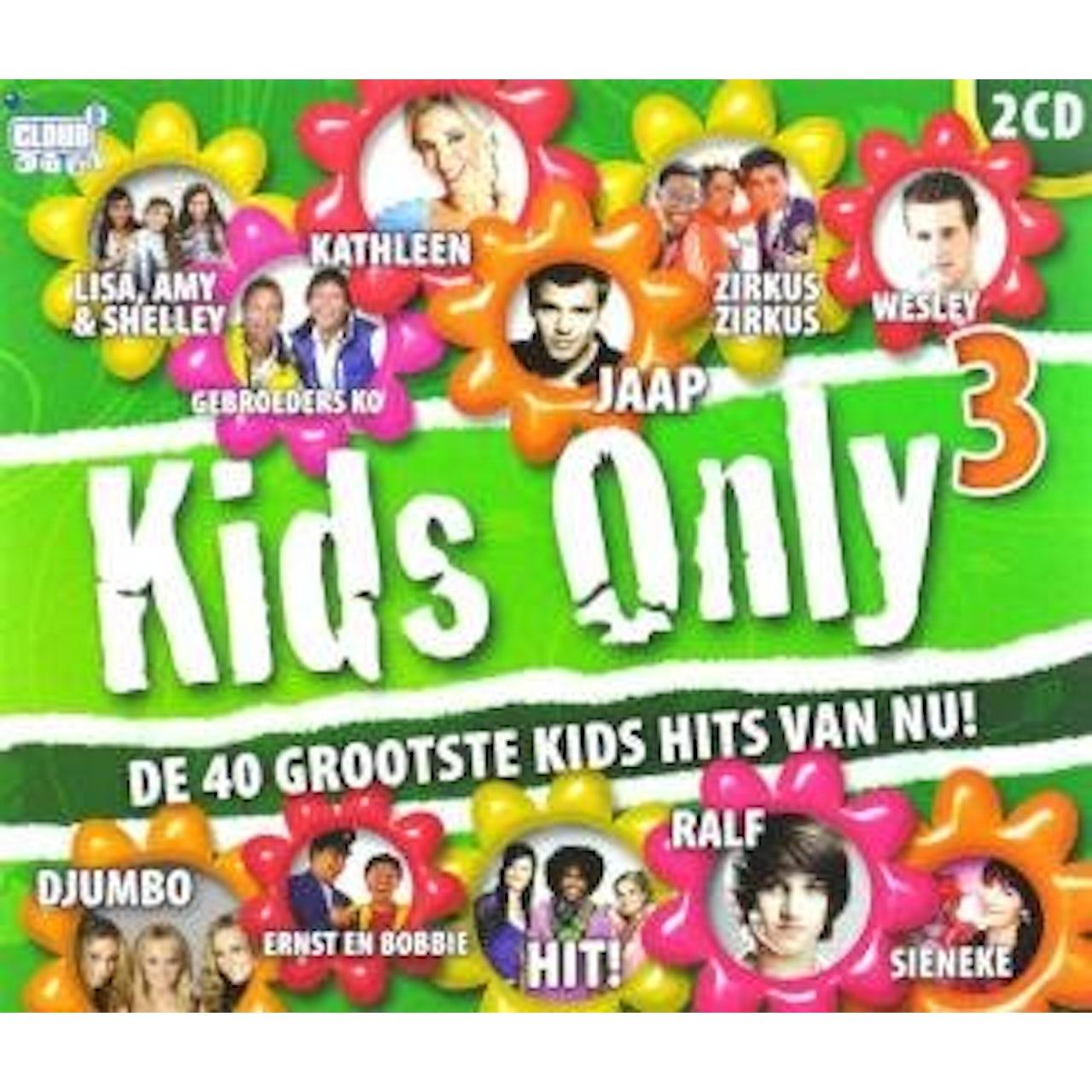 Kids Only Cd.Children Kids Only Deel 3 Cd