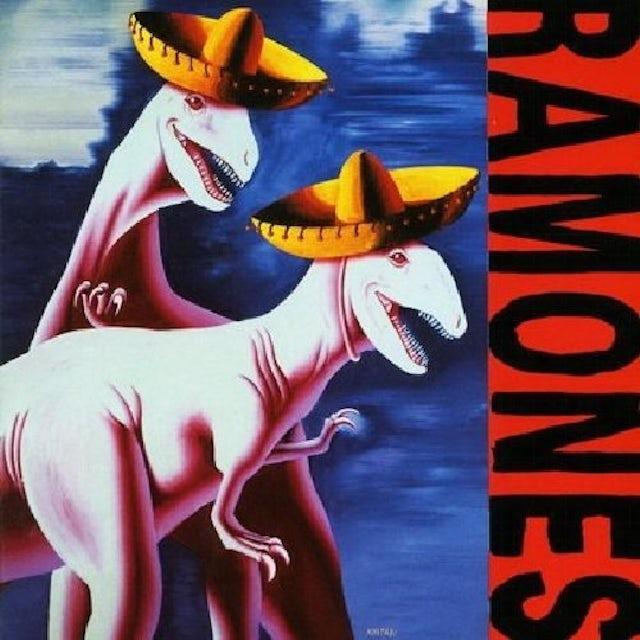 Ramones ADIOS AMIGOS Vinyl Record - UK Release