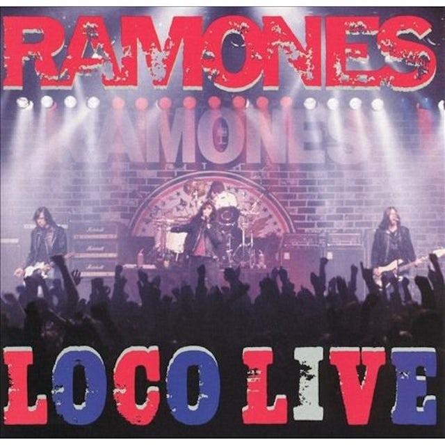 Ramones LOCO LIVE Vinyl Record - UK Release
