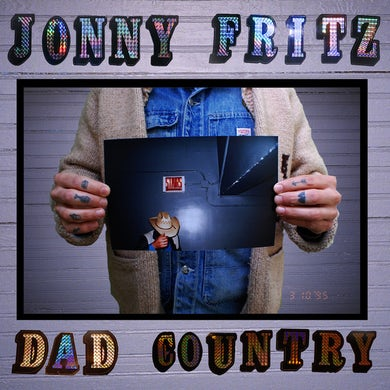 Jonny Fritz DAD COUNTRY Vinyl Record