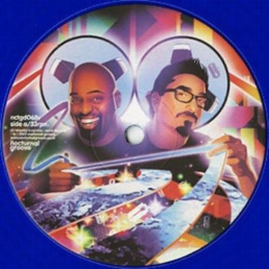 Frankie Knuckles GET OVER U Vinyl Record