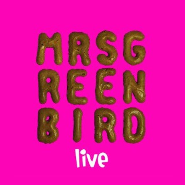 MRS. GREENBIRD-LIVE CD