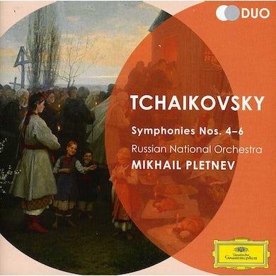 Russian National Orchestra DUO-TCHAIKOVSKY: SYMPHONIES NOS. 4 5 & 6 PATHETIQU CD