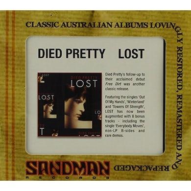 DIED PRETTY LOST CD