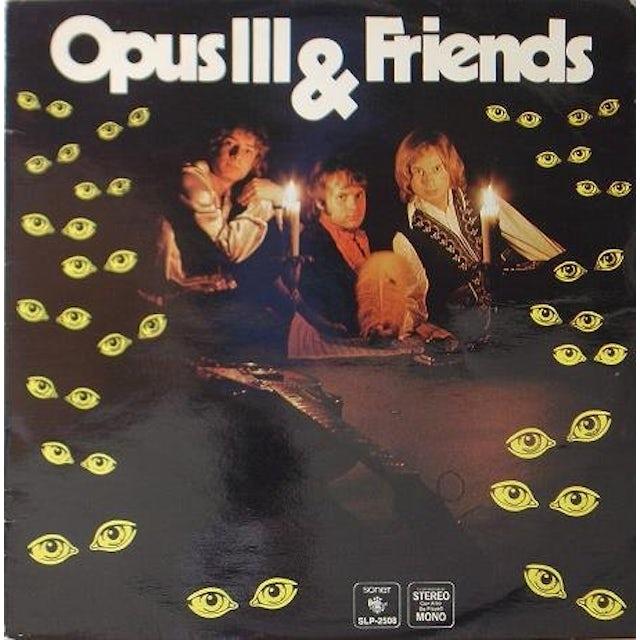Opus Iii & Friends Vinyl Record - Sweden Release