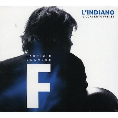 Fabrizio De André L'INDIANO-IL CONCERTO 1981/1982 (GER) Vinyl Record