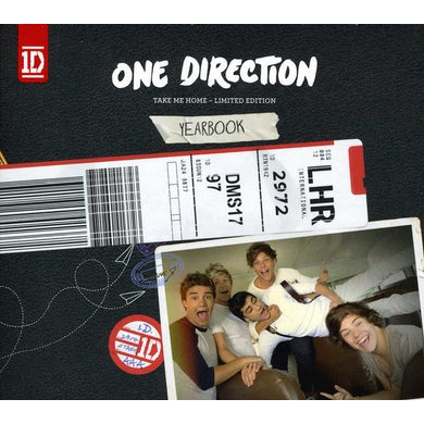 One Direction TAKE ME HOME: YEARBOOK EDITION (AUSTRALIAN) CD