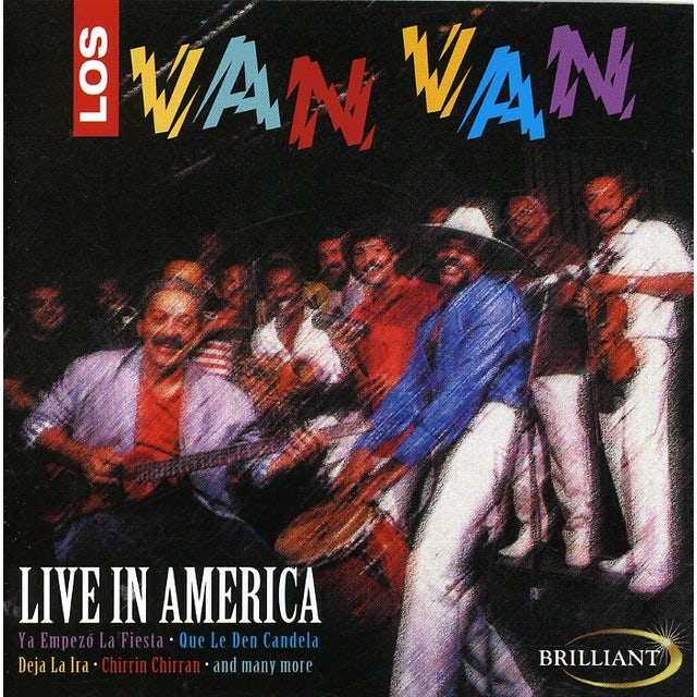 Los Van Van LIVE IN AMERICA CD