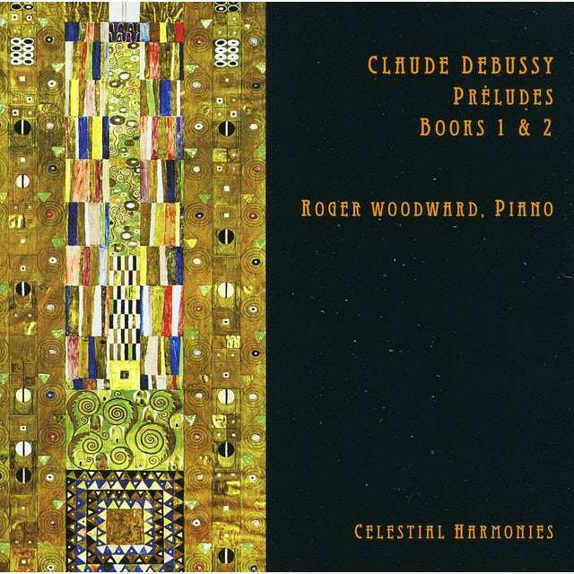 Roger Woodward CLAUDE DEBUSSY PRELUDES BOOKS 1 & 2 CD