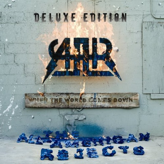 The All-American Rejects WHEN THE WORLD COMES DOWN-DELUXE EDITION CD