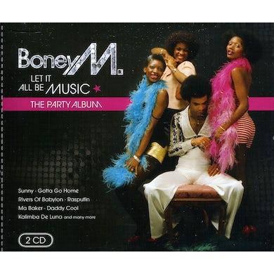 Boney M LET IT ALL BE MUSIC CD