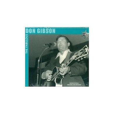 Don Gibson FABOULOUS CD