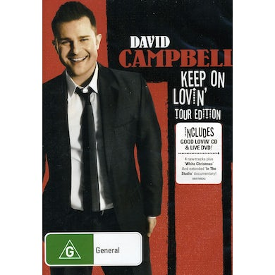 David Campbell KEEP ON LOVIN (TOUR ED) CD