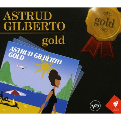 Astrud Gilberto GOLD CD