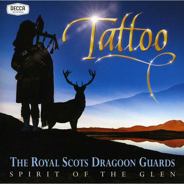 Royal Scots Dragoon Guards SPIRIT OF THE GLEN-TATTOO CD