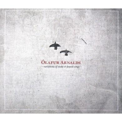 Ólafur Arnalds VARIATIONS OF STATIC + FOUND SONGS CD