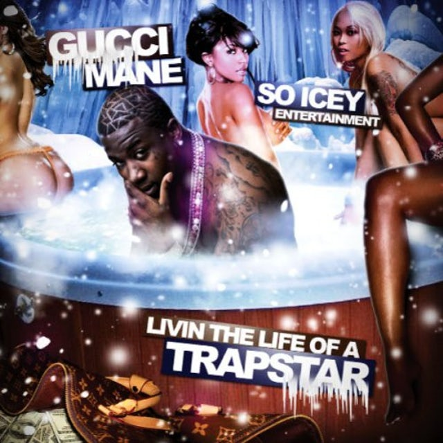 Gucci Mane LIVING THE LIFE OF A TRAP STAR CD