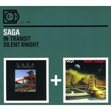 Saga IN TRANSIT/SILENT KNIGHT CD