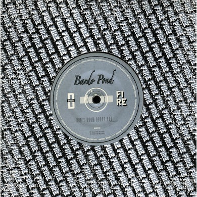 Bardo Pond JUST ONCE (ACOUSTIC)/DON'T KNOW ABOUT Vinyl Record