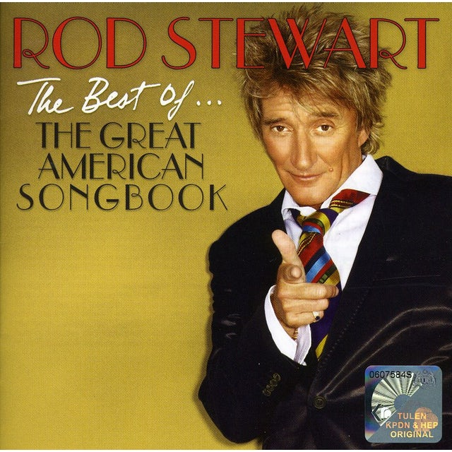 Rod Stewart BEST OF... THE GREAT AMERICAN SONGBOOK (INT'L) CD