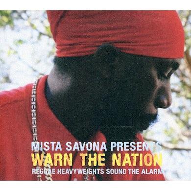 Mista Savona WARN THE NATION CD