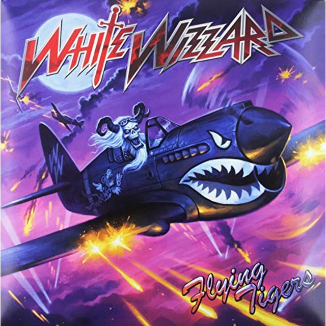 White Wizzard FLYING TIGERS Vinyl Record