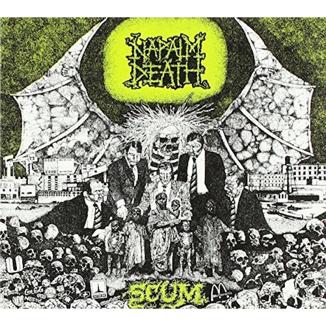 Napalm Death SCUM CD