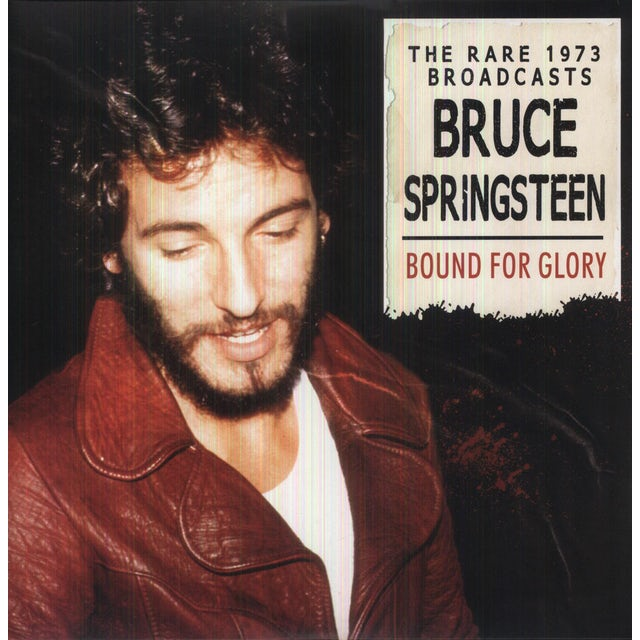 Bruce Springsteen BOUND FOR GLORY Vinyl Record