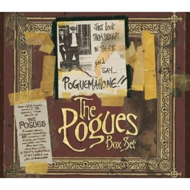 The Pogues JUST LOOK THEM STRAIGHT IN THE EYE & SAY POGUE.. CD