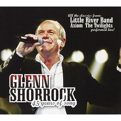 Glenn Shorrock 45 YEARS OF SONG CD