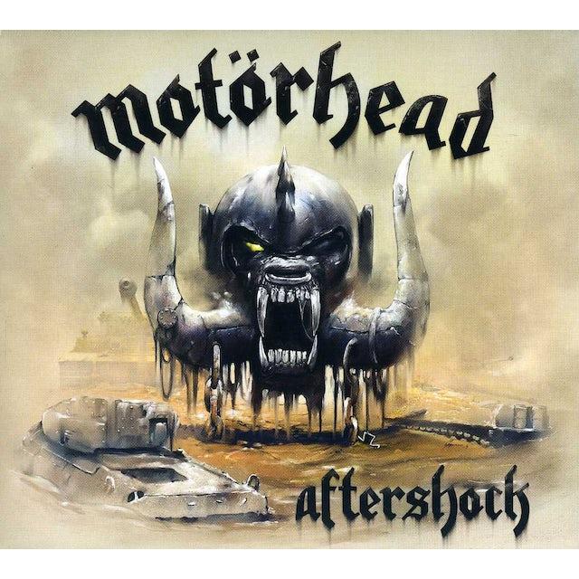 Motorhead AFTERSHOCK: UK DIGIPAK CD