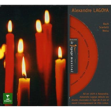 Alexandre Lagoya RECITAL WORKS BY BACH SCARLATTI & WEISS CD