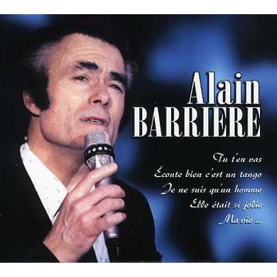 Alain Barriere PLUS GRANDES CHANSONS CD