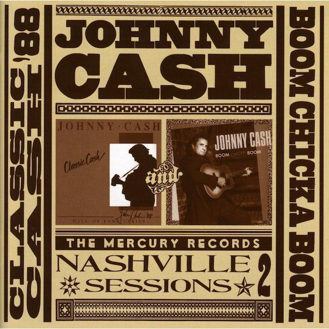 Johnny Cash CLASSIC CASH/BOOM CHICKA BOOM CD