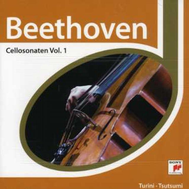 L.V. Beethoven CELLOSONATEN/ZAUBERFLOTE-VAR CD